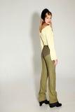 Retrato de uma mulher na moda nova Fotografia de Stock Royalty Free