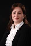 Retrato de uma mulher nova Foto de Stock Royalty Free