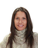 Retrato de uma mulher nova imagem de stock royalty free