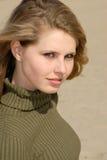 Retrato de uma mulher nova Fotos de Stock