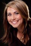 Retrato de uma mulher nova 'sexy' bonita fotos de stock royalty free