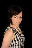 Retrato de uma mulher séria Foto de Stock