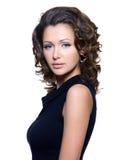 Retrato de uma mulher 'sexy' adulta bonita Imagens de Stock Royalty Free