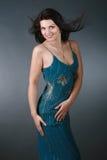 Retrato de uma mulher 'sexy' nova bonita Imagem de Stock Royalty Free