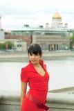 Retrato de uma mulher 'sexy' nova bonita Fotografia de Stock Royalty Free