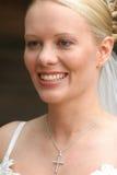 Retrato de uma noiva foto de stock