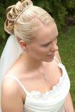 Retrato de uma noiva Imagens de Stock Royalty Free