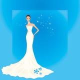 Retrato de uma noiva Foto de Stock Royalty Free