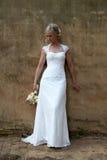 Retrato de uma noiva Fotografia de Stock Royalty Free