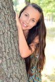 Retrato de uma rapariga Fotos de Stock Royalty Free