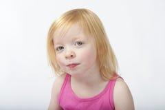 Retrato de uma rapariga Imagem de Stock Royalty Free