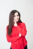 Retrato de uma rapariga Imagens de Stock Royalty Free