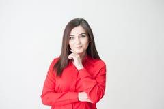 Retrato de uma rapariga Imagens de Stock