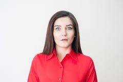 Retrato de uma rapariga Foto de Stock Royalty Free