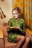 Retrato de uma senhora bonita Fotos de Stock