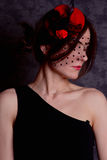 Retrato de uma senhora elegante Foto de Stock Royalty Free