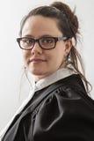 Retrato de un abogado Foto de archivo libre de regalías