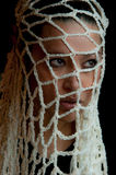 Retrato de una muchacha multirracial hermosa Imagen de archivo