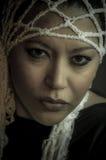 Retrato de una muchacha multirracial hermosa Fotografía de archivo