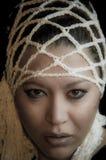 Retrato de una muchacha multirracial hermosa Foto de archivo libre de regalías