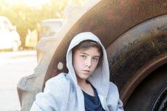 Retrato de un adolescente Fotografía de archivo libre de regalías