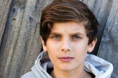 Retrato de un adolescente Foto de archivo libre de regalías