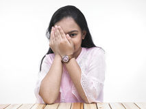 Retrato de un adolescente asiático Imagen de archivo