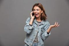 Retrato de un adolescente bonito feliz Imagen de archivo