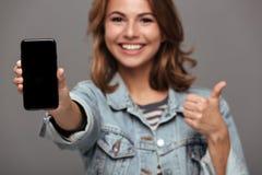 Retrato de un adolescente bonito sonriente Imagen de archivo libre de regalías