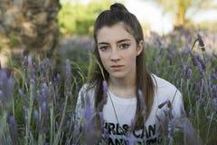 Retrato de un adolescente de 15 años Fotografía de archivo