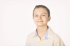 Retrato de un adolescente en estilo retro Imagen de archivo libre de regalías
