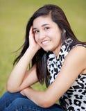 Retrato de un adolescente feliz Fotos de archivo libres de regalías