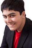 Retrato de un adolescente feliz del indio Fotografía de archivo libre de regalías