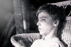 Retrato de un adolescente hermoso Imágenes de archivo libres de regalías