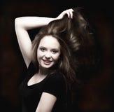 Retrato de un adolescente hermoso Fotos de archivo