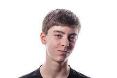 Retrato de un adolescente hermoso Fotografía de archivo