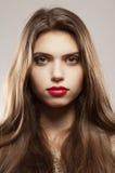 Retrato de un adolescente hermoso Fotografía de archivo libre de regalías
