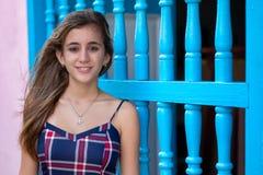 Retrato de un adolescente hispánico hermoso Imágenes de archivo libres de regalías