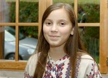 Retrato de un adolescente joven Imagen de archivo libre de regalías