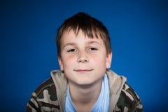 Retrato de un adolescente lindo Imagen de archivo libre de regalías