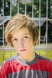Retrato de un adolescente masculino Imagen de archivo libre de regalías
