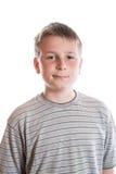 Retrato de un adolescente pensativo Fotografía de archivo libre de regalías