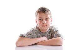 Retrato de un adolescente pensativo Imagen de archivo