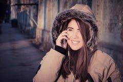 Retrato de un adolescente sonriente Fotos de archivo libres de regalías