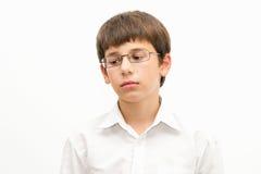 Retrato de un adolescente triste Fotografía de archivo libre de regalías