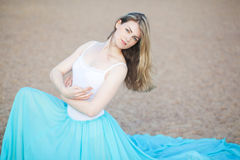 Retrato de un bailarín hermoso Fotos de archivo