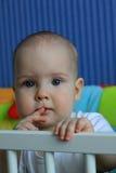 Retrato de un bebé de 11 meses Imagen de archivo