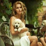 Retrato de un blonde joven Imagen de archivo