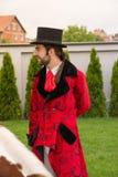 Retrato de un caballero con el sombrero de copa Foto de archivo