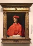 Retrato de un cardenal fotos de archivo